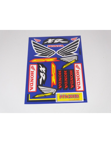 STICKERSET SPONSORKIT HONDA WINGS 33X22
